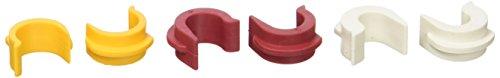 VAUDE Ersatzteil QMR Reduction parts 2.0,Weiß 8,5mm, Rot 10,5mm, Gelb...