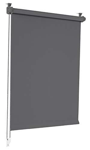 Sonello Verdunkelungsrollo Klemmfix ohne Bohren 55cm x 150cm Grau...