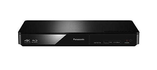 Panasonic DMP-BDT184EG 3D Blu-ray Player (4K Upscaling, DLNA, VoD,...