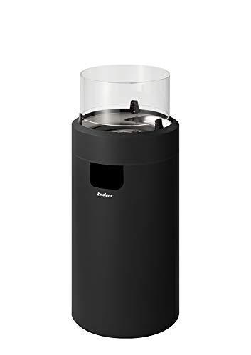 Enders® Nova LED M Feuerstelle, Schwarz/Chrom