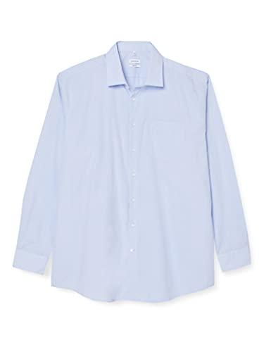 Seidensticker Herren Business Modern Fit Hemd, Blau (11 Millraye...