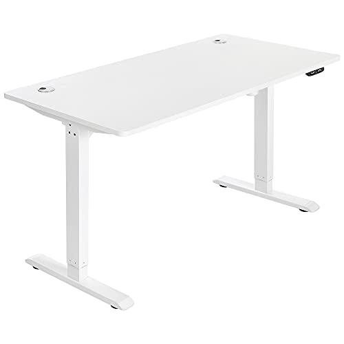 SONGMICS Elektrischer Schreibtisch, höhenverstellbar,...