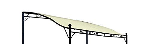 DEGAMO Ersatz Dachplane für Anbaupavillon Mantova 300x250cm,...