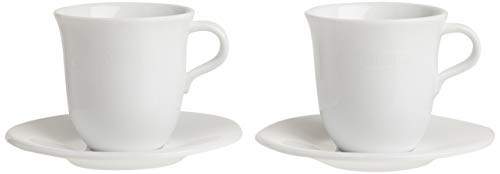 De'Longhi Cappuccinottassen Set DLSC309 – 2 handgemachte Keramik...