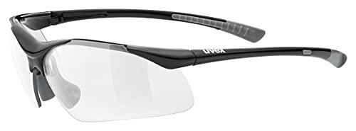 uvex Unisex– Erwachsene, sportstyle 223 Sportbrille, black...
