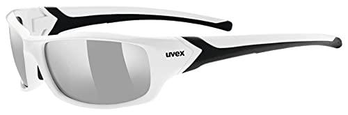 uvex Unisex– Erwachsene, sportstyle 211 Sportbrille, white...