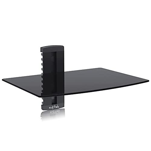 Suptek Single Floating Regal Multimedia Wandregal TV Rack...