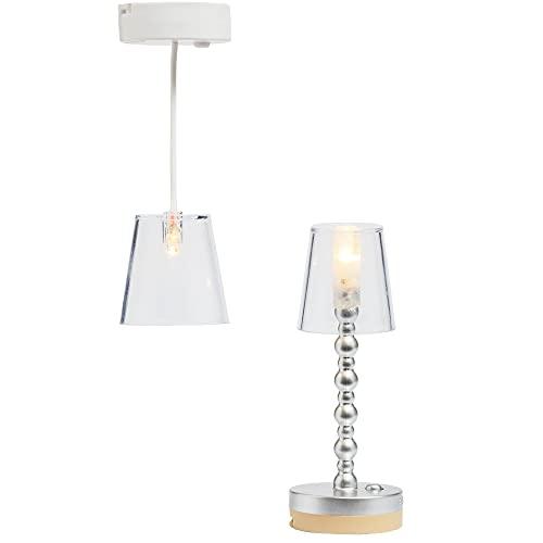 Lundby 60-605000 - Lampen Puppenhaus - 2 Stück - Lampenset -...