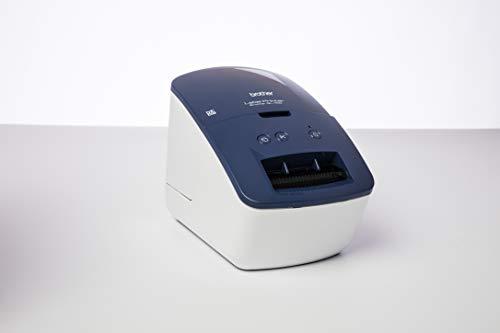 Brother QL-600B Blau Etikettendrucker (USB-Schnittstelle,...