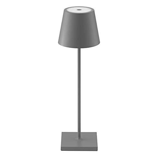 SIGOR Nuindie - Dimmbare LED Akku-Tischlampe Indoor & Outdoor,...