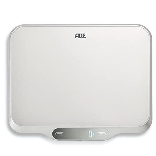 ADE Digitale Küchenwaage groß KE 1601 Ladina. Elektronische Waage...