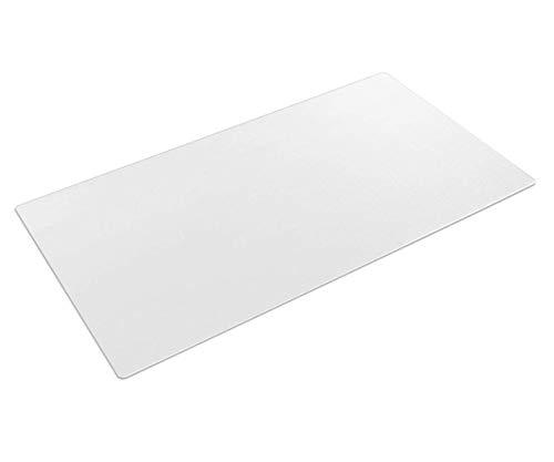 Transparente Schreibtischunterlage, 90 x 40 cm, große, rutschfeste...
