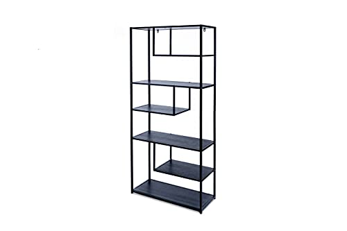 LIFA LIVING Modernes Bücherregal aus Metall für den Innenbereich,...