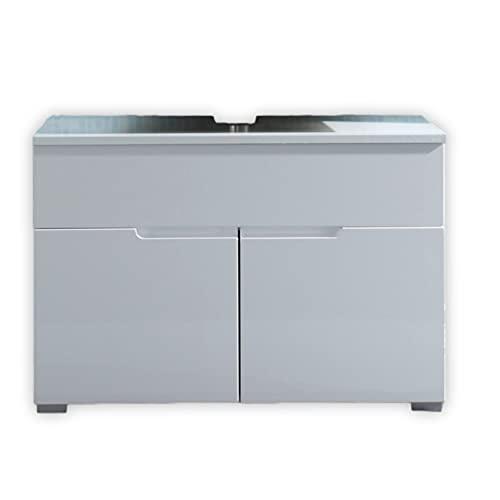 Stella Trading SPICE Badezimmer Waschbeckenunterschrank in Weiß...