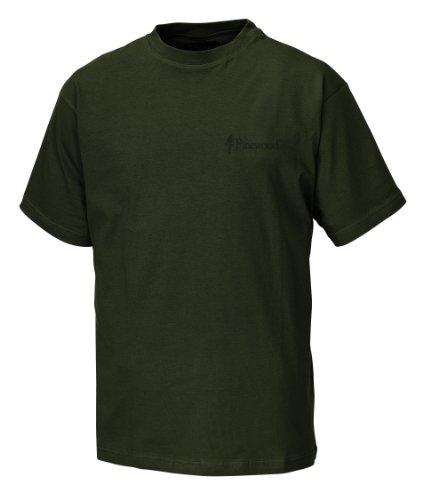 Pinewood Unisex T-Shirt 2-Pack, grün, M