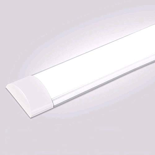 20W LED Deckenleucht Röhre 60CM,LED Feuchtraumleuchte Kaltes Weiß...