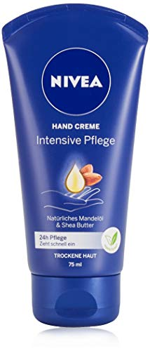 NIVEA Intensive Pflege Hand Creme (75 ml), reichhaltige Hautcreme mit...