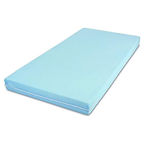 MSS Roll-Matratze, Easy Active, 140 x 190 x 11 cm, H3, Bezug Blau,...