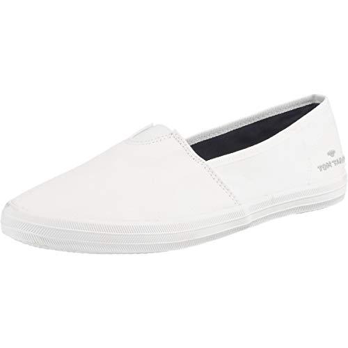 TOM TAILOR Damen 6992404 Slipper, Weiß (White 00002), 39 EU