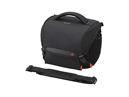 Sony LCS-SC8 gepolsterte Tasche für DSLR Kamera mit Zusatzobjektiv