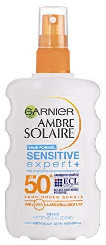Garnier Ambre Solaire Sonnenschutz Spray Sensitive Expert+ /...