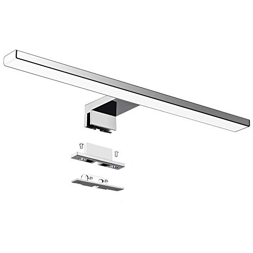 LED Spiegelleuchte Badezimmer 10W 820LM 40cm Kaltweiß 6000K...