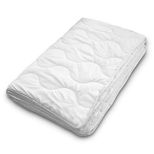 Siebenschläfer Sommerdecke 135x200 cm - dünne und leichte Bettdecke...