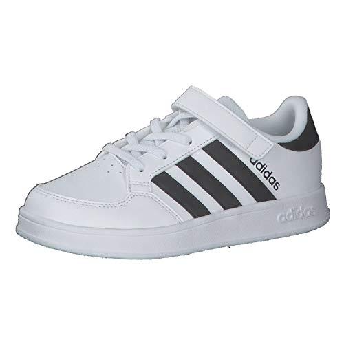 adidas Breaknet C Tennisschuhe, Mehrfarbig Ftwbla Negbás Ftwbla, 33...