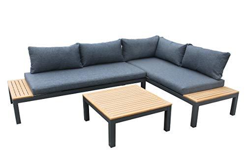 Gartenfreude Ambience Lounge Gruppe, Dunkelgrau