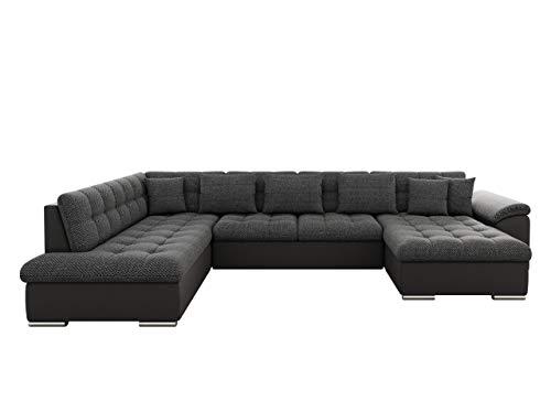 Eckcouch Ecksofa Niko Bis! Design Sofa Couch! mit Schlaffunktion und...