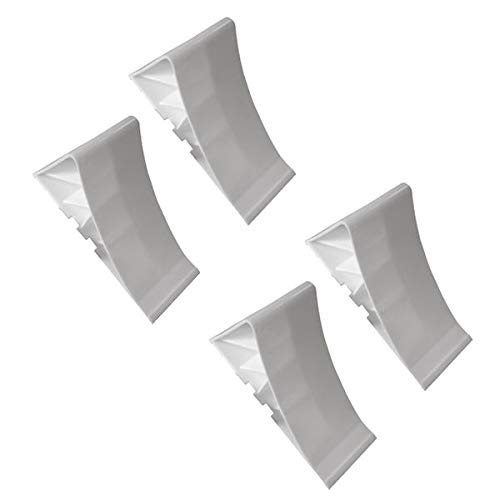 4 Stück - Unterlegkeil für Autoanhänger - Zubehör - ohne Halter