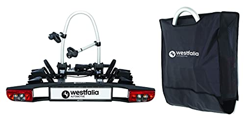 Westfalia BC 60 Fahrradträger für die Anhängerkupplung inkl. Tasche...
