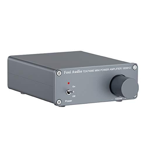 Fosi Audio-TDA7498E 2 Kanal Stereo-Audioverstärker Receiver Mini-HiFi...