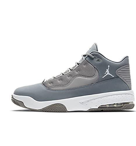 Nike Herren Jordan Max Aura 2 Basketballschuh, Medium Grey White Cool...