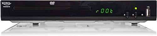 Xoro HSD 8470 HDMI MPEG4 DVD-Player (USB 2.0, Mediaplayer, 1080p...