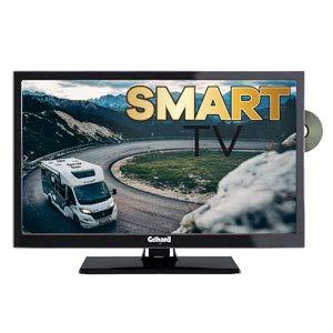 Gelhard GTV2452 Smart TV 24 Zoll DVB/S/S2/T2/C, DVD, USB, 12V 230 Volt...