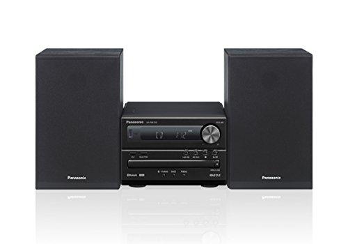 Panasonic SC-PM250EG-K Micro-mit HiFi-System (Bluetooth, CD, UKW, 20 W...