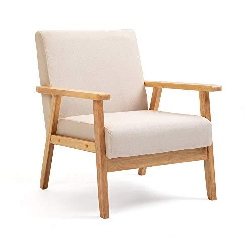 Mingone Gepolsterter Sessel aus Cocktailwannenstuhl Einzelsofa...