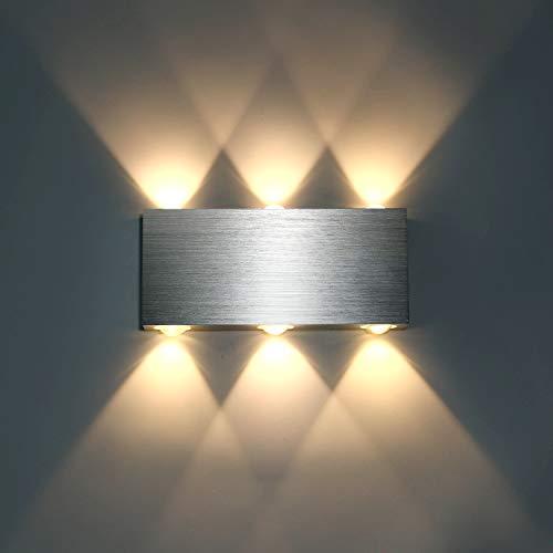 Lightess 18W LED Wandleuchte Innen Modern Up Down Wandlampe aus...