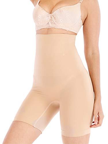 GARYOB Shapewear Damen Miederpants mit Bein Miederhose Hohe Taille...
