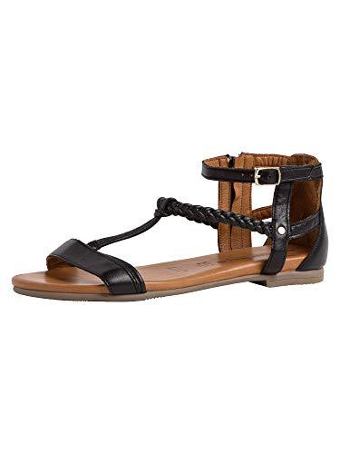 Tamaris Damen Sandale 1-1-28043-24 007 normal Größe: 38 EU