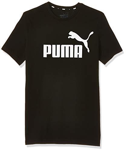 PUMA Kinder ESS Logo Tee B T-shirt, Cotton Black, 140...