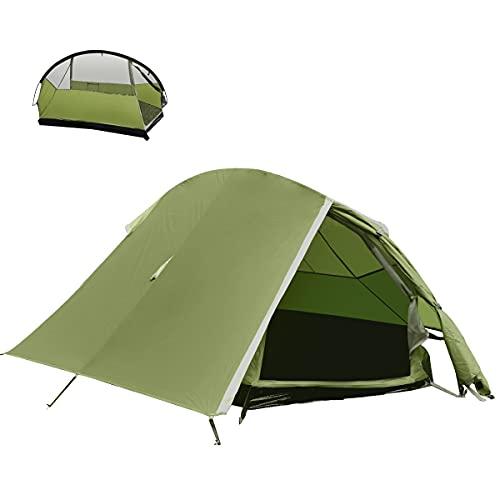 BACKTURE Campingzelt, Ultraleichte 1-2 Personen Campingzelt...