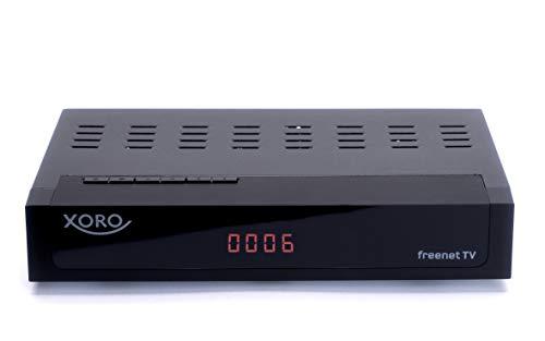 Xoro HRT 8729 Hybrid DVB-C/DVB-T/T2 Receiver (HDTV H.265, kartenloses...