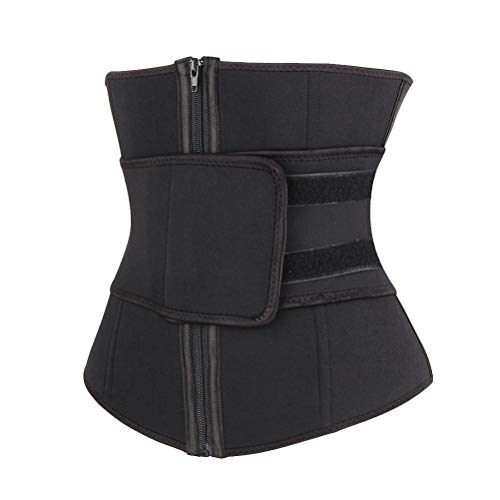 Hemoton Gummi-Korsett Taillengürtel Damen Shapewear Reißverschluss...