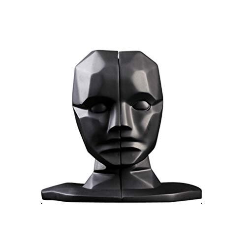 ZLBYB Creative-Gehirn-Loch-Wide Open Statuen Skulpturen...