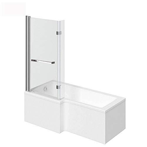 Home Deluxe - Badewanne mit Duschwanne - Elara rechts - inkl....