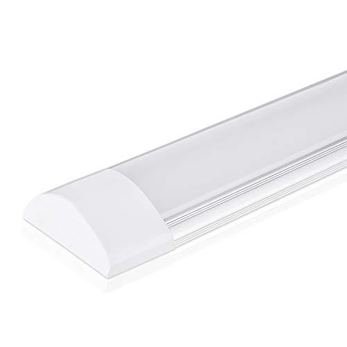 40W LED Deckenleucht Röhre Licht 120CM, mit 4800LM in Warmweiß...