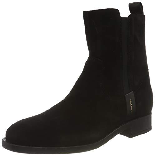 GANT FOOTWEAR Damen FAYY Mode-Stiefel, Black, 36 EU
