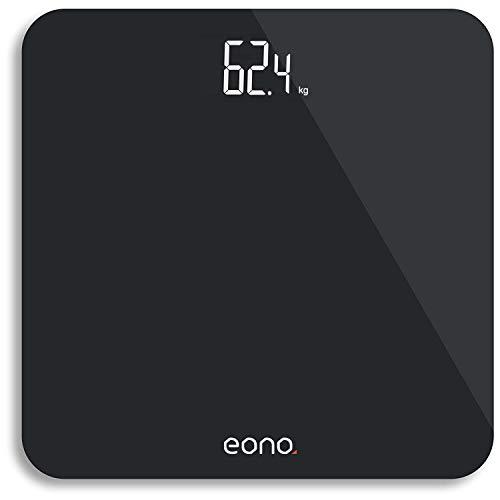 Amazon Brand - Eono Digitale Personenwaage mit hochpräzisen Sensoren...